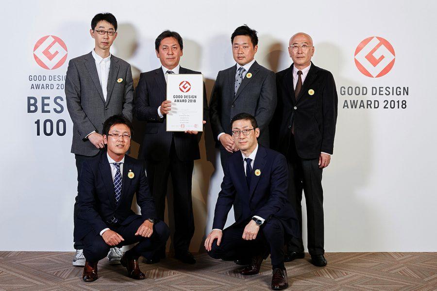 2018年度グッドデザイン賞 受賞祝賀会へ