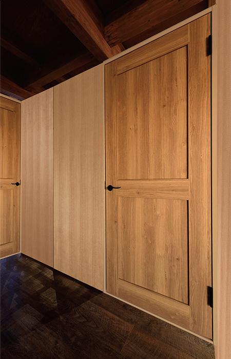 壁・ドア使用